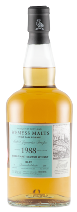 "Wemyss ""Salted Liquorice Drops"" Bunnahabhain 30 Years Old 1988 Single Cask Scotch Whisky"