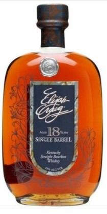 Elijah Craig 18 YO Single Barrel Bourbon Whiskey