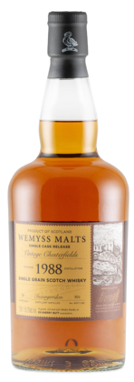 "Wemyss ""Vintage Chesterfields"" Invergordon 30 Years Old 1988 Single Grain Scotch Whisky"