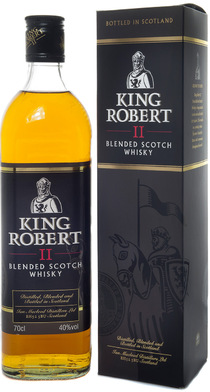 King Robert II Blended Scotch Whisky
