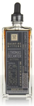 Dashfire Bitters Jerry Thomas Decanter
