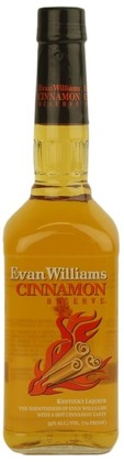 Evan Williams Fire Bourbon Liqueur with Cinnamon